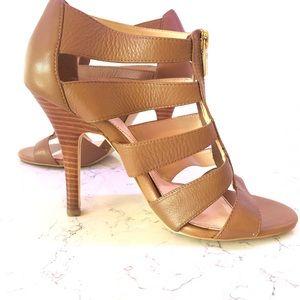 Isola shoes 8 1/2 heels brown leather ladies